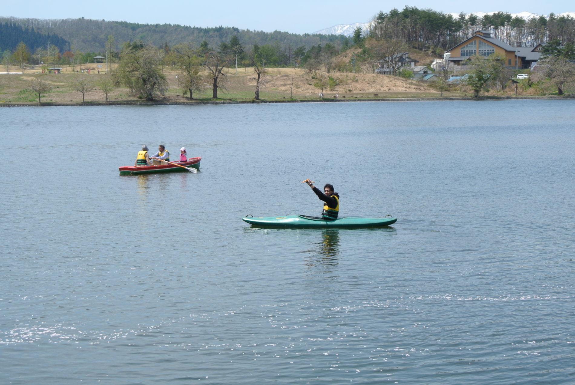 5月。いい季節ですね。キャンプ、釣り、自転車。