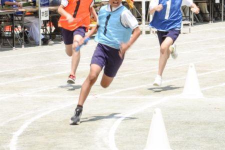 四女最後の小学校の運動会